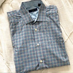 Ted Baker London Archive Checkered Dress Shirt